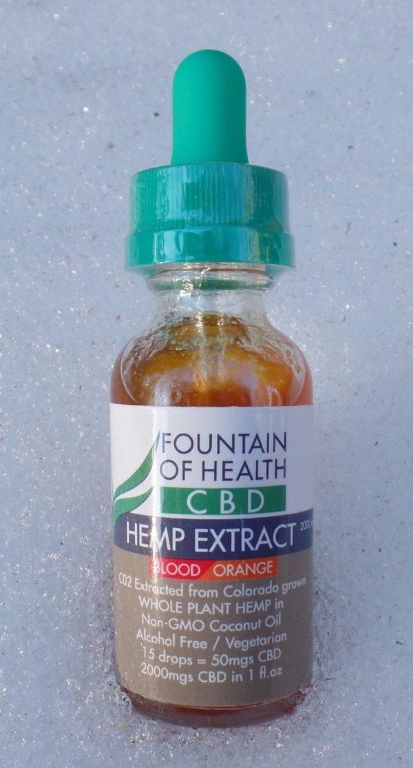 Blood Orange CBD Oil