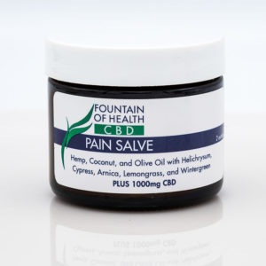 CBD Oil Pain Salve