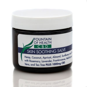Skin Soothing CBD Oil Salve 1000mgs