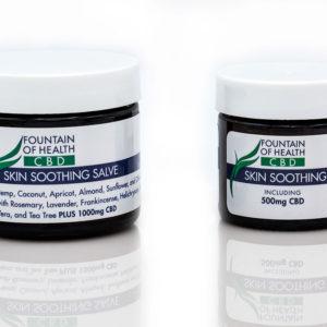 CBD Oil Salve, skin soothing CBD lotion