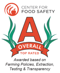 Center for Food Safety A rating