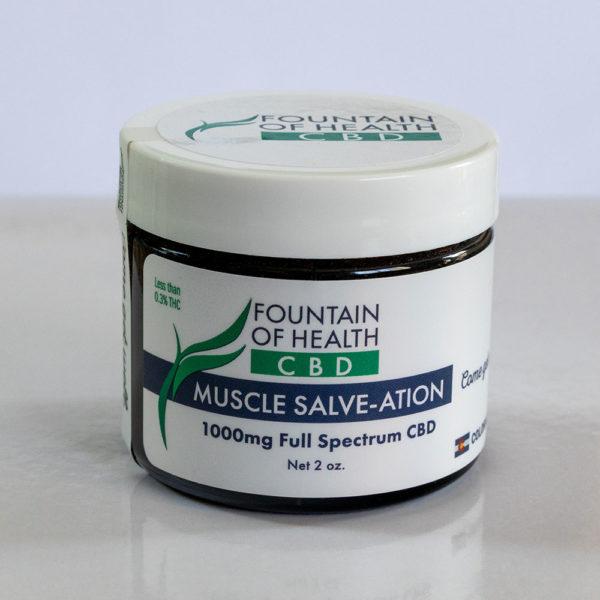 CBD Oil Muscle Salve-ation 2 oz